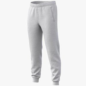 3D realistic sweatpants pbr 01 model