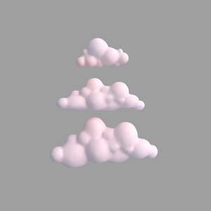 clouds weather atmosphere 3D model