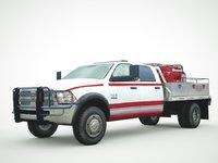 2018 Dodge 5500 Alpine Series 4x4 Brush Truck