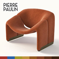 Pierre Paulin f-598 chair