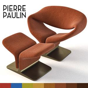 3D chair paulin