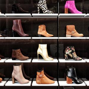 shop shoes 3D model