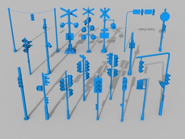 3D traffic lights - 18