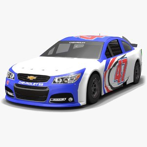 jtg daugherty racing nascar model