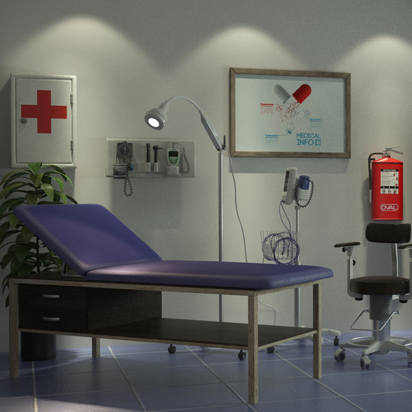 exam room classic 3D model