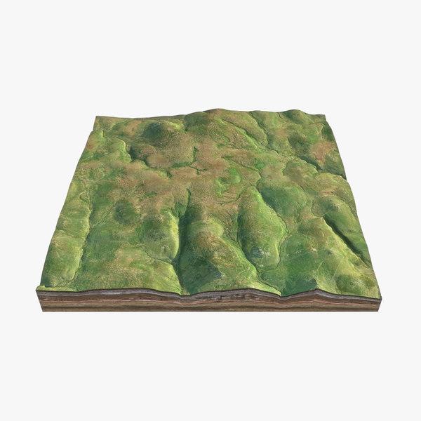 3D model dartmoor national park