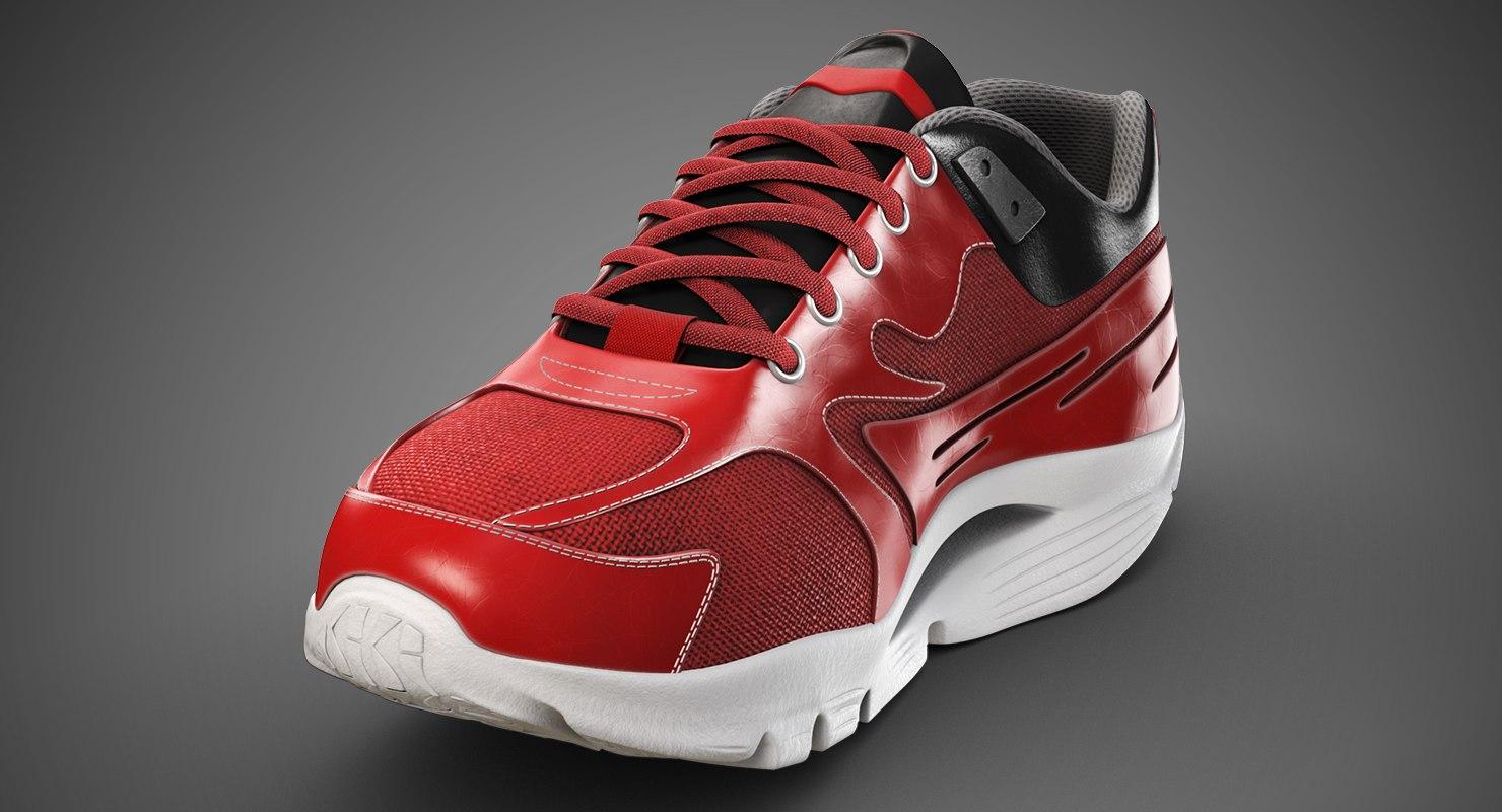 running sneakers model
