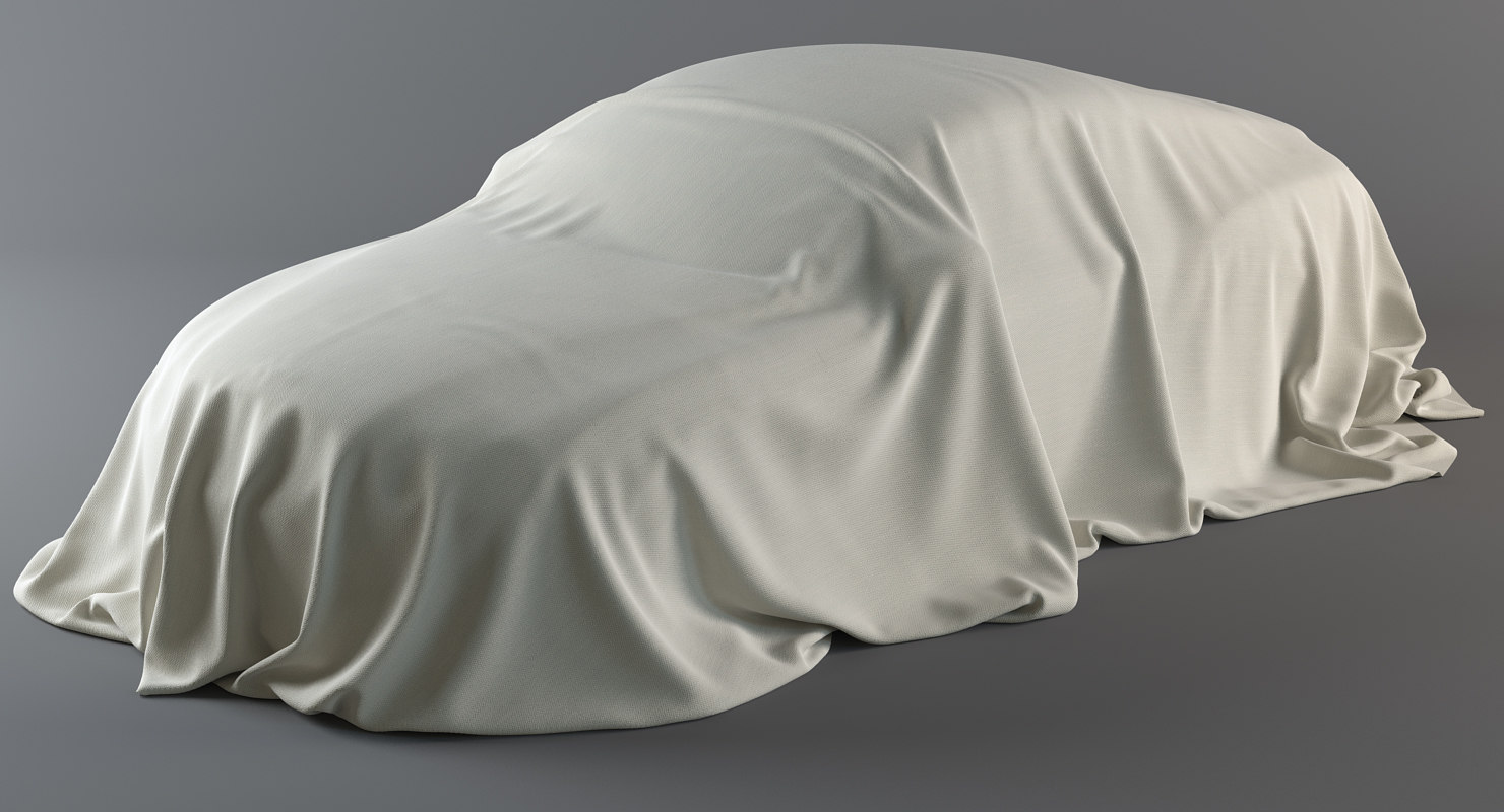 realistic cover car materials model