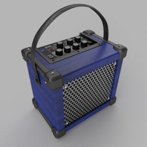 3D amplifier guitars