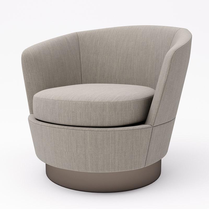3D armchair minotti model - TurboSquid 1377651