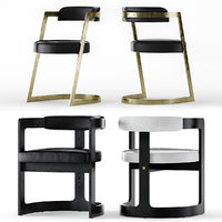 studio chair zuma 3D model