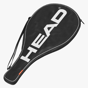 3D tennis racquet single bag