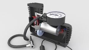 3D air car compressor