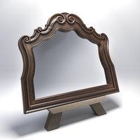 furniture hooker mirror 3D model