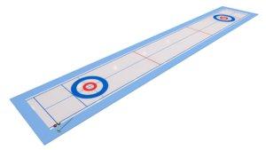 3D model curling rink