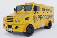 3D ready armored car