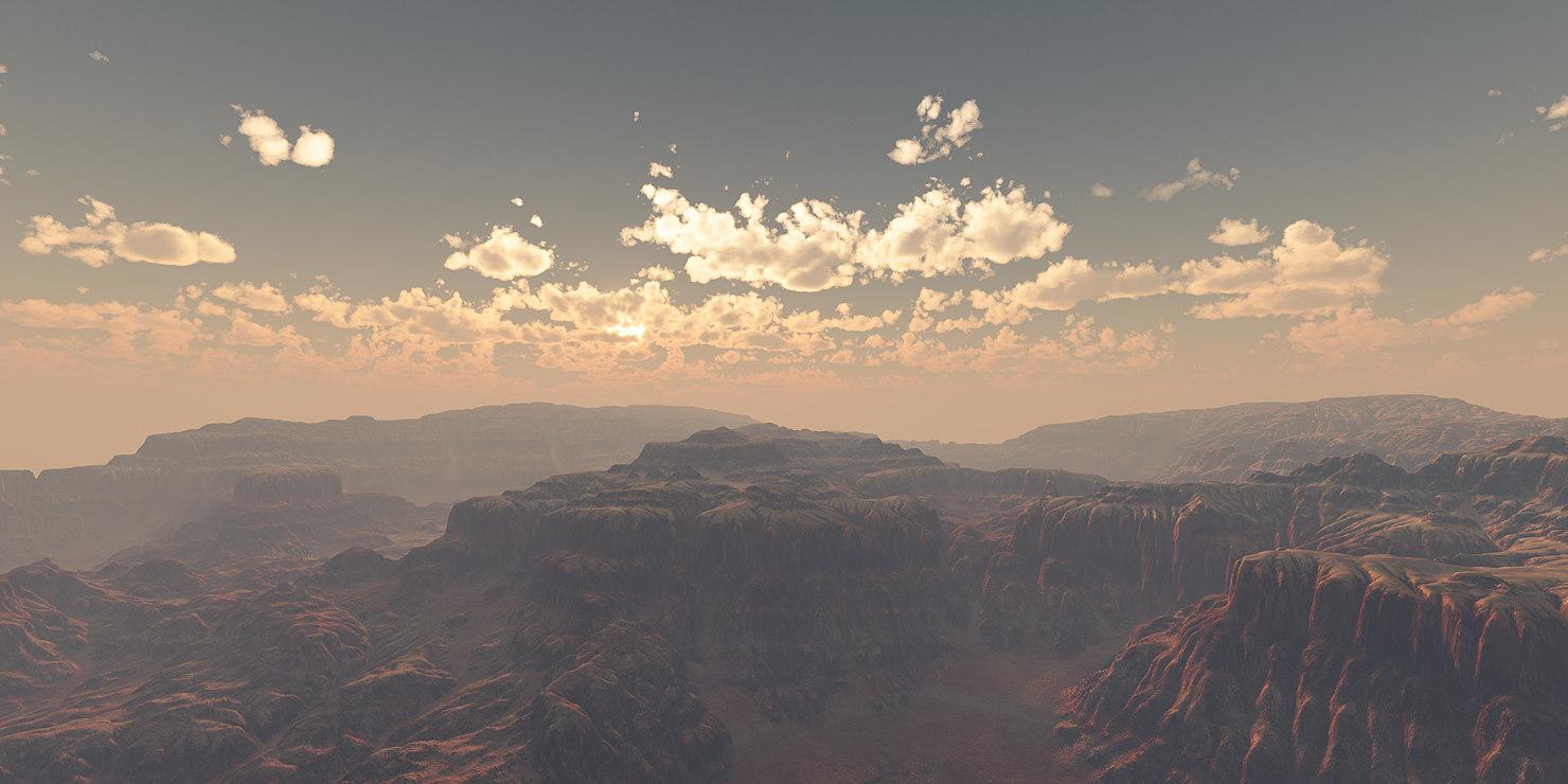 terrain canyon model