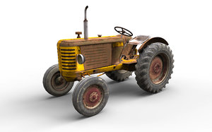 3D farm traktor