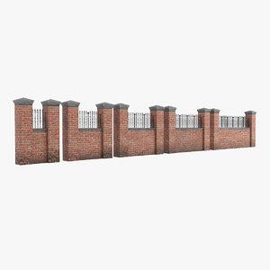 garden wall v2 3D model