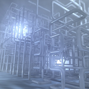 3D pipe structure environment