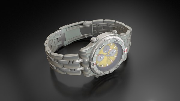 stainless steel waterproof watch model