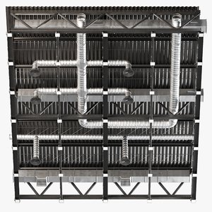 ceiling ventilation 30 3D model