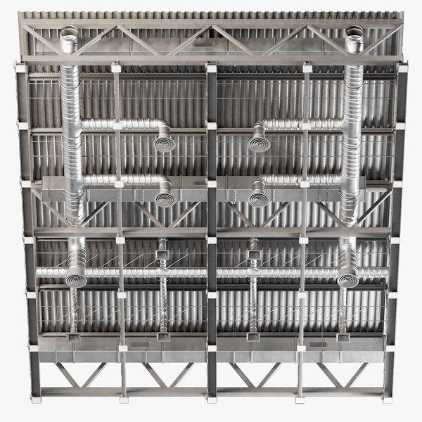 ceiling ventilation 29 3D