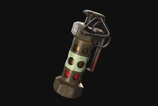 3D stun grenade