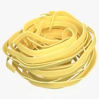 3D egg pasta nest