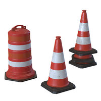 realistic repair cone 3D model