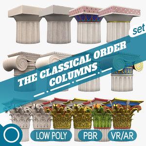 3D classical order column