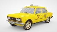 polski taxi fiat 125p 3D
