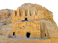 ancient city petra ultra 3D model