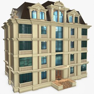 3D buildings neoclassical games model