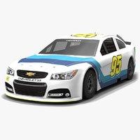 3D leavine family racing nascar model