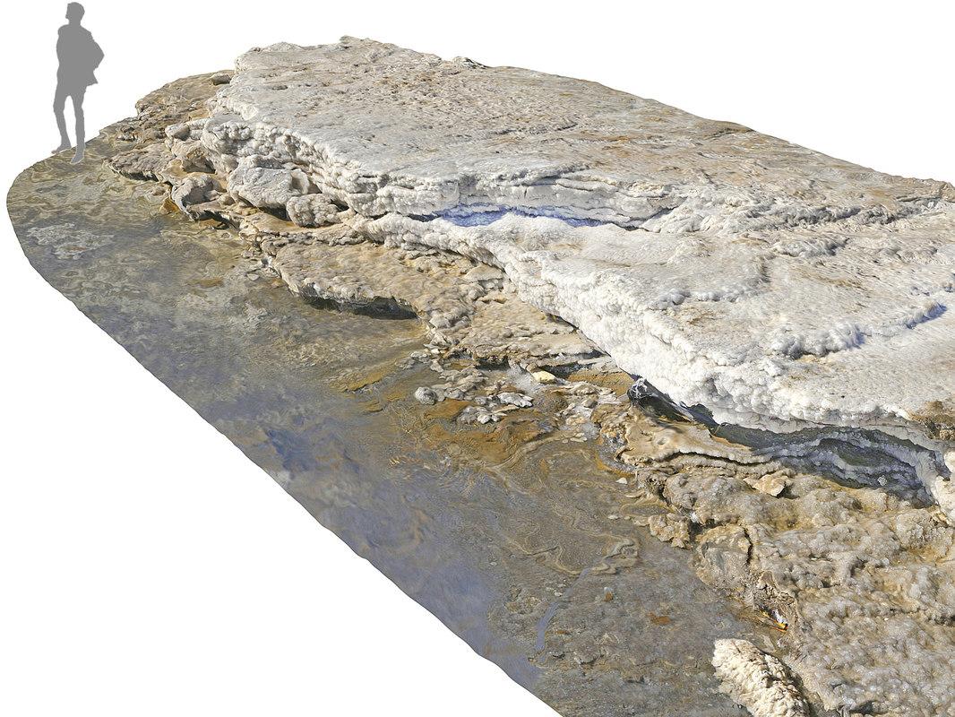 3D dead sea ultra hd model