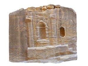 ancient city petra hd 3D model