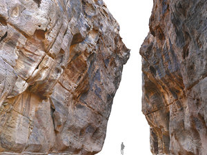 3D petra canyon ultra hd