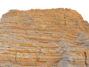 petra rock cliff 3D model