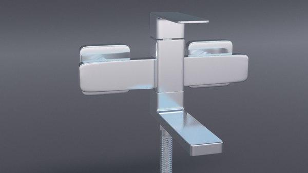 3D faucet shower