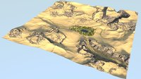 3D oasis