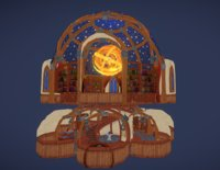 library structure fantasy model