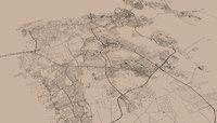 Bahrain City 3d Street Map