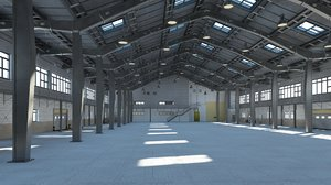 3D warehouse interior exterior 2