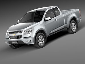 chevrolet colorado 2012 pickup 3ds