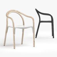 3D soul armchair pedrali chair