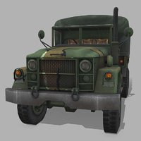 3D m35 cargo truck