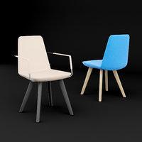 3D chair furniture