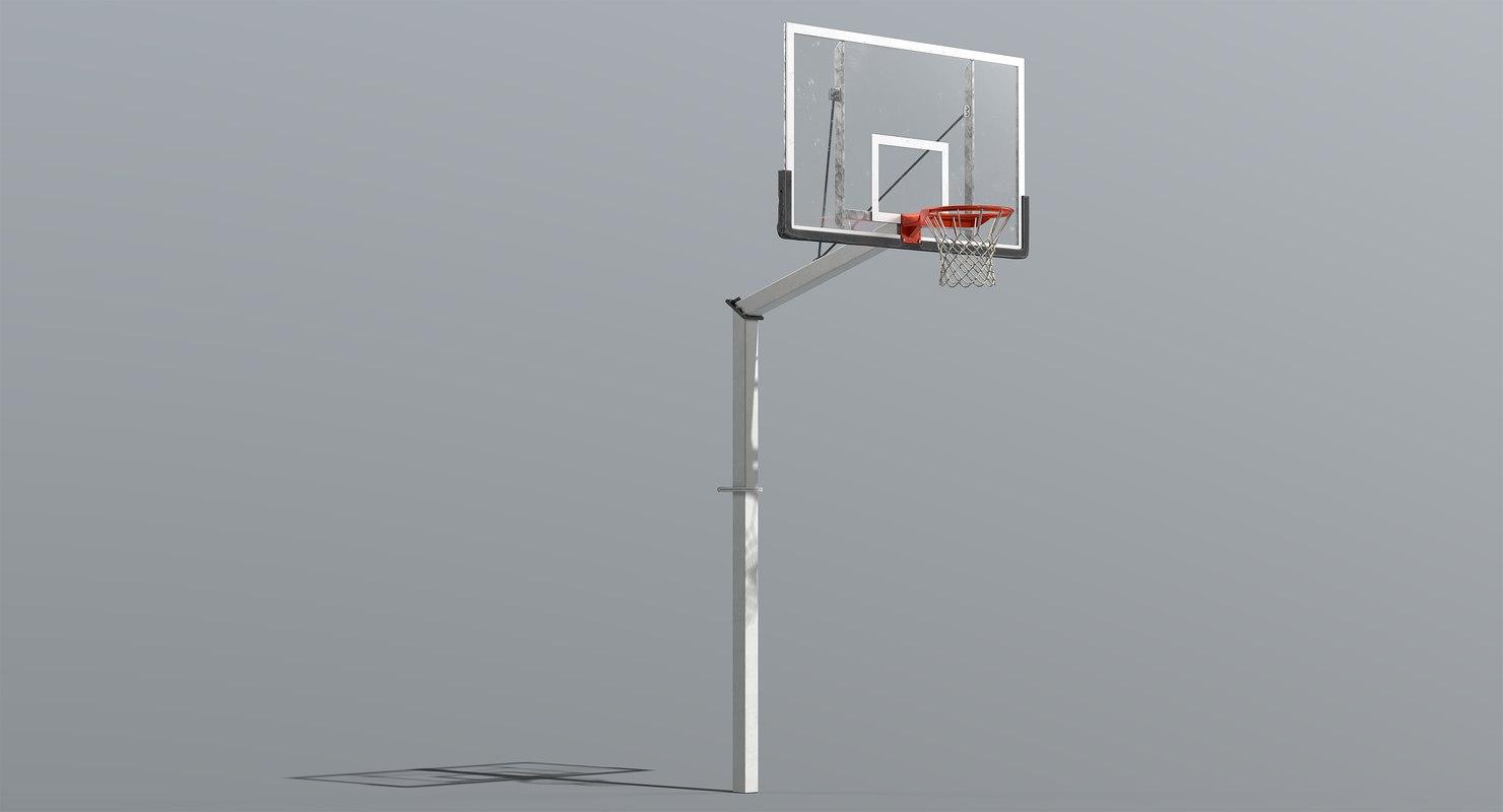basketball goal 3D