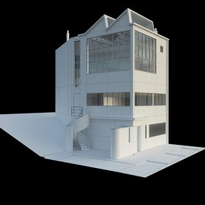 maison atelier ozenfant 3D model